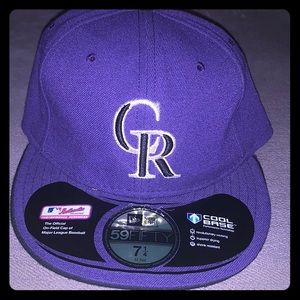 Colorado Rockies hat brand new without tags 7 1/4